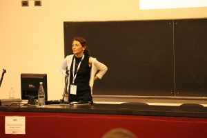 Sima Levs lectures Biochemical Society